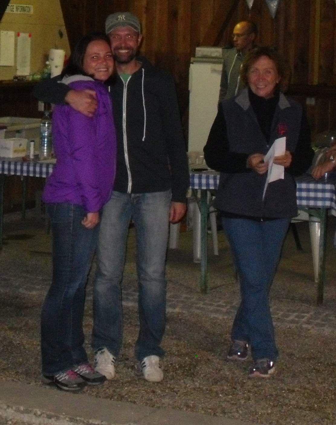 1. Platz: Carola und Steve