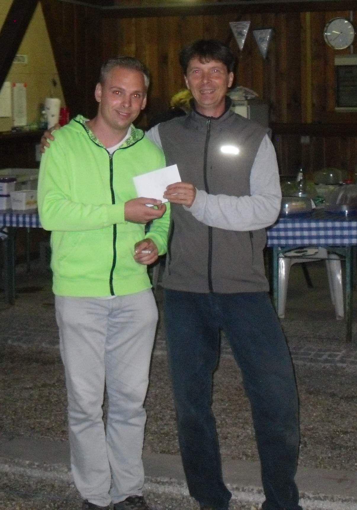 4. Platz: Philipp und Uwe